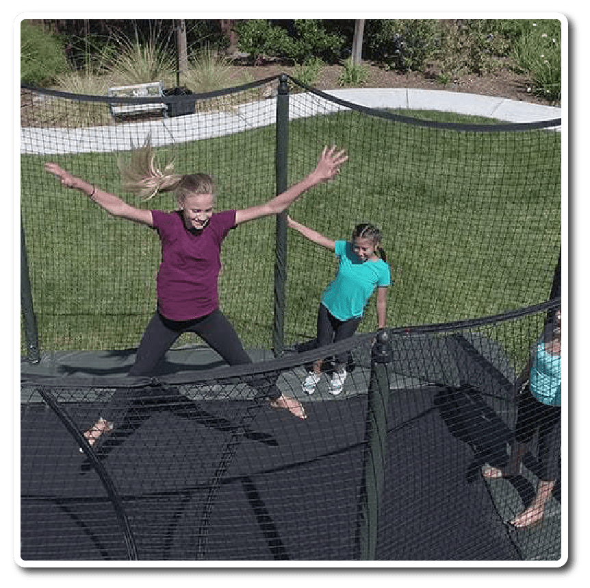 Kids on Trampolines